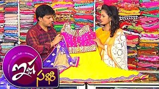 getlinkyoutube.com-Crop Tops With Lehenga Style & Neted Anarkali Dresses || Ista Sakhi || Vanitha TV