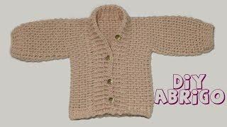 getlinkyoutube.com-Cómo tejer abrigo de bebé en crochet.
