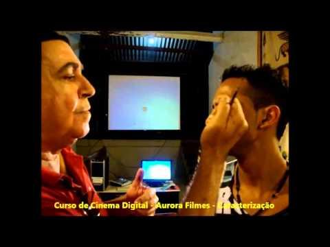 Curso de Cinema Digital - Aurora Filmes - Maquiagem com efeitos especiais - 09JUL13 - 02