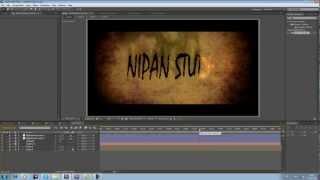 After Effects Tutorial:12:ไตเติลแบบมืออาชีพ-2 (by Nipan)