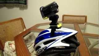 getlinkyoutube.com-Sony HDR-AS10 Action Cam - Helmet Mount Modification