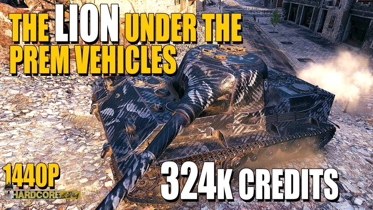 The Lion under the premium vehicles^^