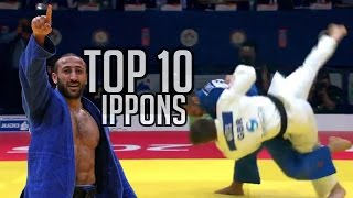 getlinkyoutube.com-TOP 10 IPPONS | GRAND SLAM BAKU 2015 - JudoHeroes