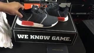 "adidas ""Linen Khaki NMD R1 Primeknit : Young California"
