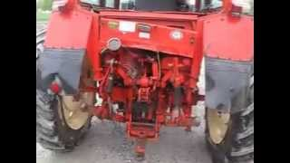 Belarus 572 4x4 Tractor with Cab and Loader