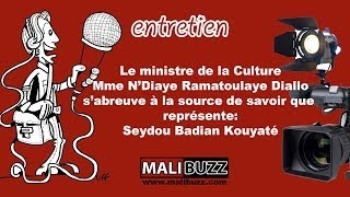 Entretien de N'Diaye Rama  DIALLO avec Seydou Badian Kouyaté