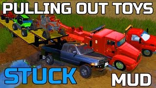 getlinkyoutube.com-FARMING SIMULATOR 2015 | TOWING TOYS OUT OF THE MUD | WRECKING CREW