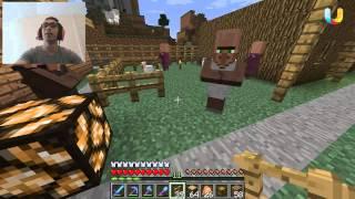 getlinkyoutube.com-ماين كرافت : القروي الدلوع هههه  #73 | 73# Minecraft : d7oomy999