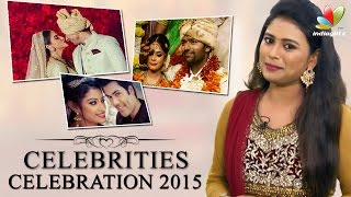 getlinkyoutube.com-Celebrities Celebration 2015 | Tamil Actors Wedding, Engagement and Marriage Reception