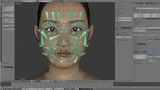 getlinkyoutube.com-Face Rig - by Blender(3DCG)