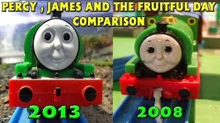 Tomy Percy, James & The Fruitful Day Comparison