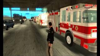 getlinkyoutube.com-Huge Car Accident/Traffic Jam- GTA SA