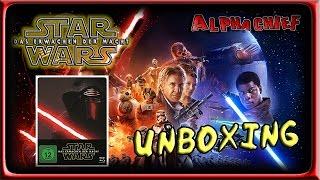getlinkyoutube.com-STAR WARS DAS ERWACHEN DER MACHT STEELBOOK : Unboxing – Blu Ray [DEUTSCH]