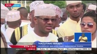 Wakuu wa Kiislamu na wanasiasa wa Pwani wameikosoa serikali kwa kukumbatia mikataba na Israeli
