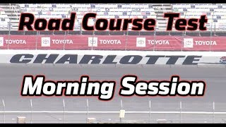LIVE: Testing at Charlotte Motor Speedway