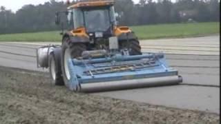 getlinkyoutube.com-Imants rotary spader for soil sterilisation with Metham Sodium against nemathodes in France