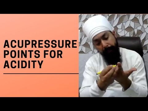 Acupressure Points for Acidity | Treatment for Acid Reflux and Good Digestion