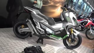 getlinkyoutube.com-HONDA City Adventure Concept 2016 Tokyo Motorcycle Show 【東京モーターサイクルショーレポ】