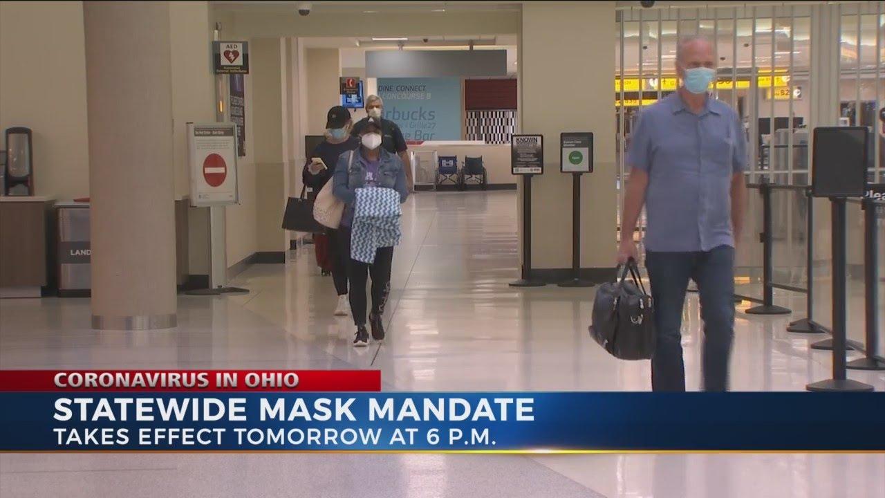 Ohio's New Mask Mandate