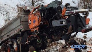 #DontCrowdThePlow - Snow Plow Crash in Spanish Fork Canyon