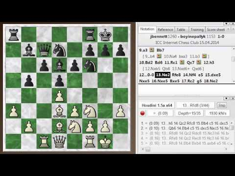 Blitz chess postmortem #251: Semi-Slav defense