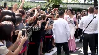 getlinkyoutube.com-Courtesy Call of Ms. Pia Wurtzbach, Miss Universe 2015