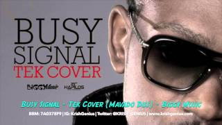 Busy Signal - Tek Cover