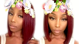 getlinkyoutube.com-How To: Affordable DIY Deep Red Hair At Home! ft. Unice Hair