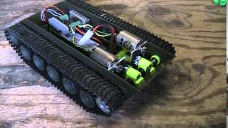 getlinkyoutube.com-Heng Long 1/16 M41A3 Bulldog RC Tank, Dual 540 motors, Worm gear drives