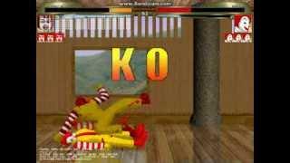 getlinkyoutube.com-mugen 無限格鬥 ドナルドSolo VS ロナルド(Ronald)