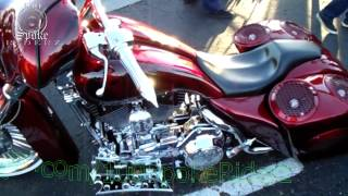 getlinkyoutube.com-Harley Davidson Baggers on AirRide