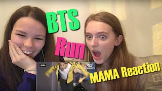 "getlinkyoutube.com-BTS (방탄소년단) ""Run"" Live Performance at MAMA Reaction ☆Leiona☆"