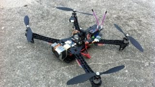 getlinkyoutube.com-Reptile Fast FPV Fun Fly ended with Crash