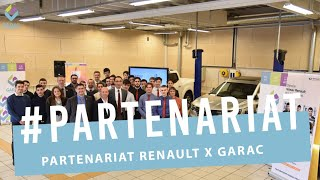 PARTENARIAT RENAULT GARAC