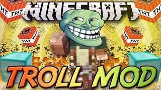 getlinkyoutube.com-Minecraft ITA - Mod: TROLL MOD // TROLLING & GRIEFING