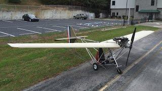 getlinkyoutube.com-Maiden Flight of the Skyhopper Ultralight (Nov 28, 2015)