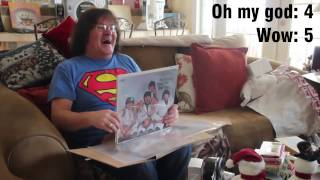"getlinkyoutube.com-Dad's Beatles ""Butcher"" Album Christmas Reaction"