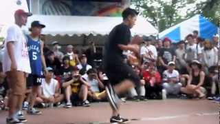 BBOY PARK 2012 OVER AGE CREW BATTLE 予選 Foundnation vs SHOW OWN COLOR