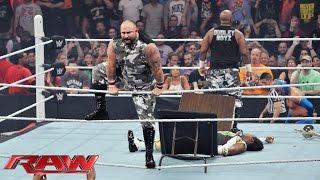 getlinkyoutube.com-The Dudley Boyz return to WWE: Raw, Aug. 24, 2015