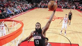 getlinkyoutube.com-James Harden 53 Points, 17 Assists, 16 Rebounds! Tied For Highest Triple Double