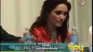 getlinkyoutube.com-Dulce defiende a Anahí programa Hoy