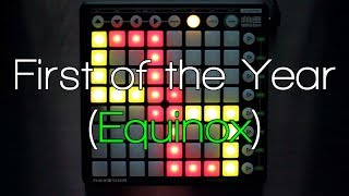 getlinkyoutube.com-Nev Plays: Skrillex - First of the Year (Equinox) Launchpad Cover