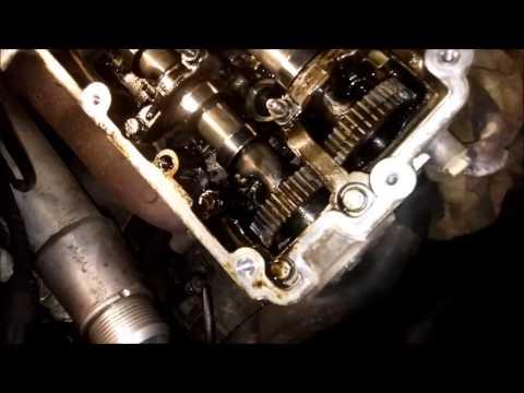 014 снятие головки блока двигателя audi q7,vw Touareg 3.0 tdi