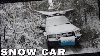 getlinkyoutube.com-Car Camping in the Snow