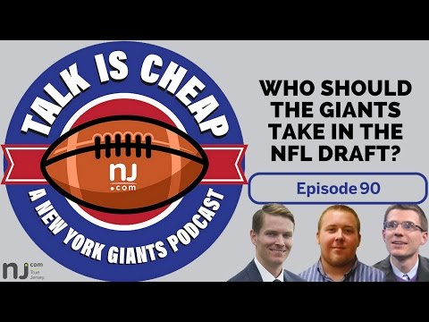 Who should the Giants take in the NFL Draft?