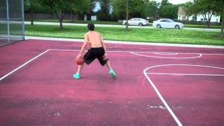 Full Court Continuous Behind the Back Dribble