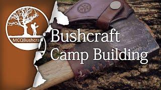 getlinkyoutube.com-Bushcraft Shelters: Camp Construction