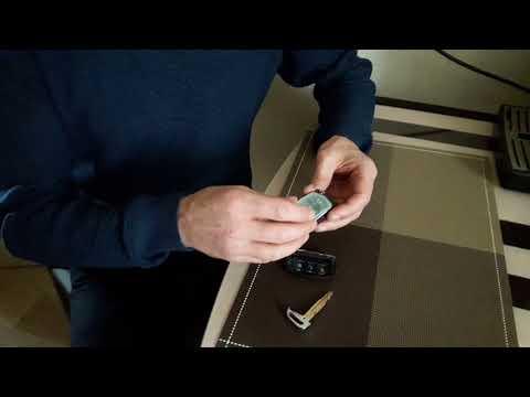 Замена батарейки ключа Hyundai Creta