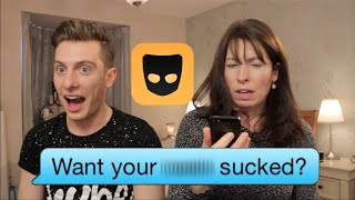 getlinkyoutube.com-MOM READS SON'S GRINDR MESSAGES