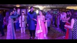 getlinkyoutube.com-Radhika with Hiren  Wedding 13Dec2013 At Dubai